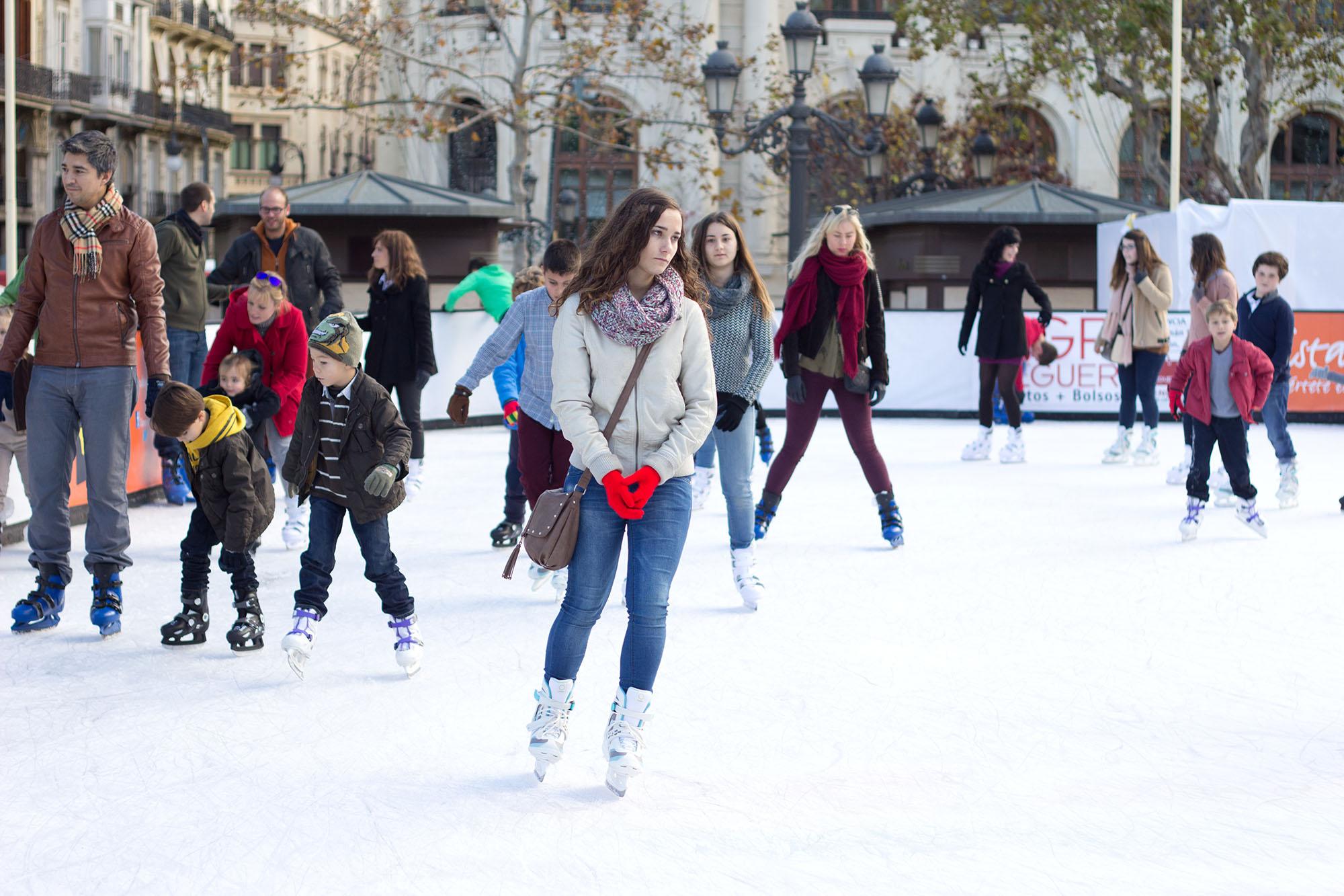 Pista de patinaje Valencia