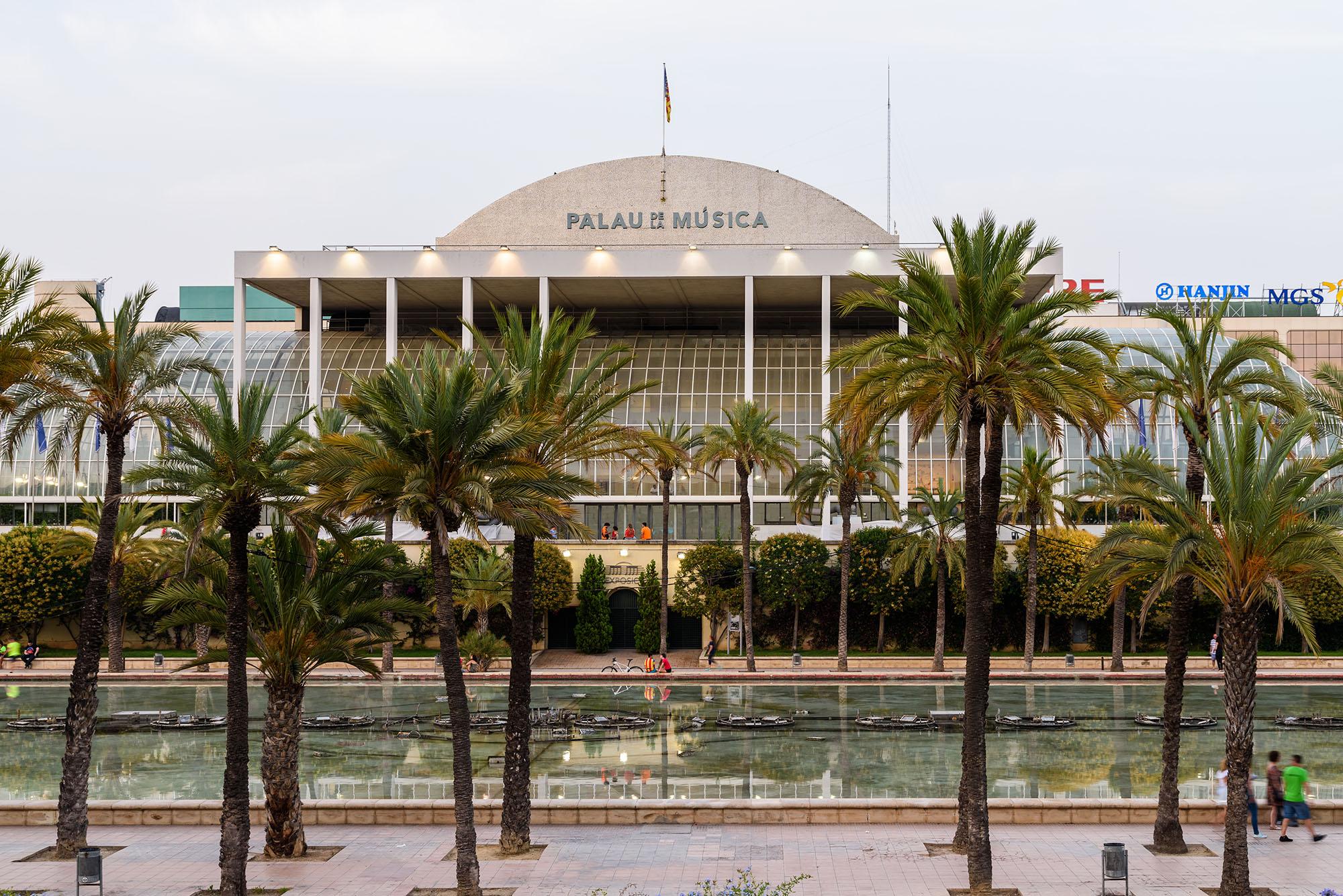 Palau de la Música en Valencia