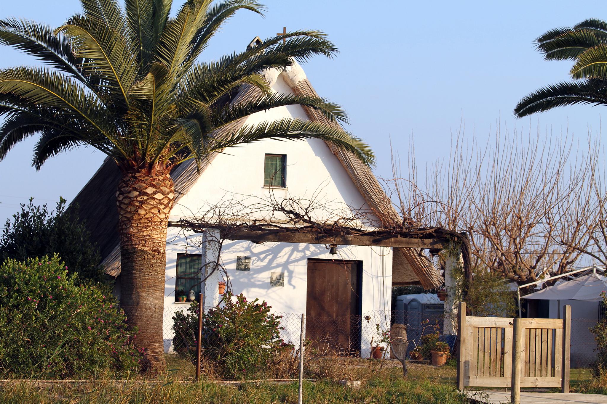 Una barraca valenciana de El Palmar