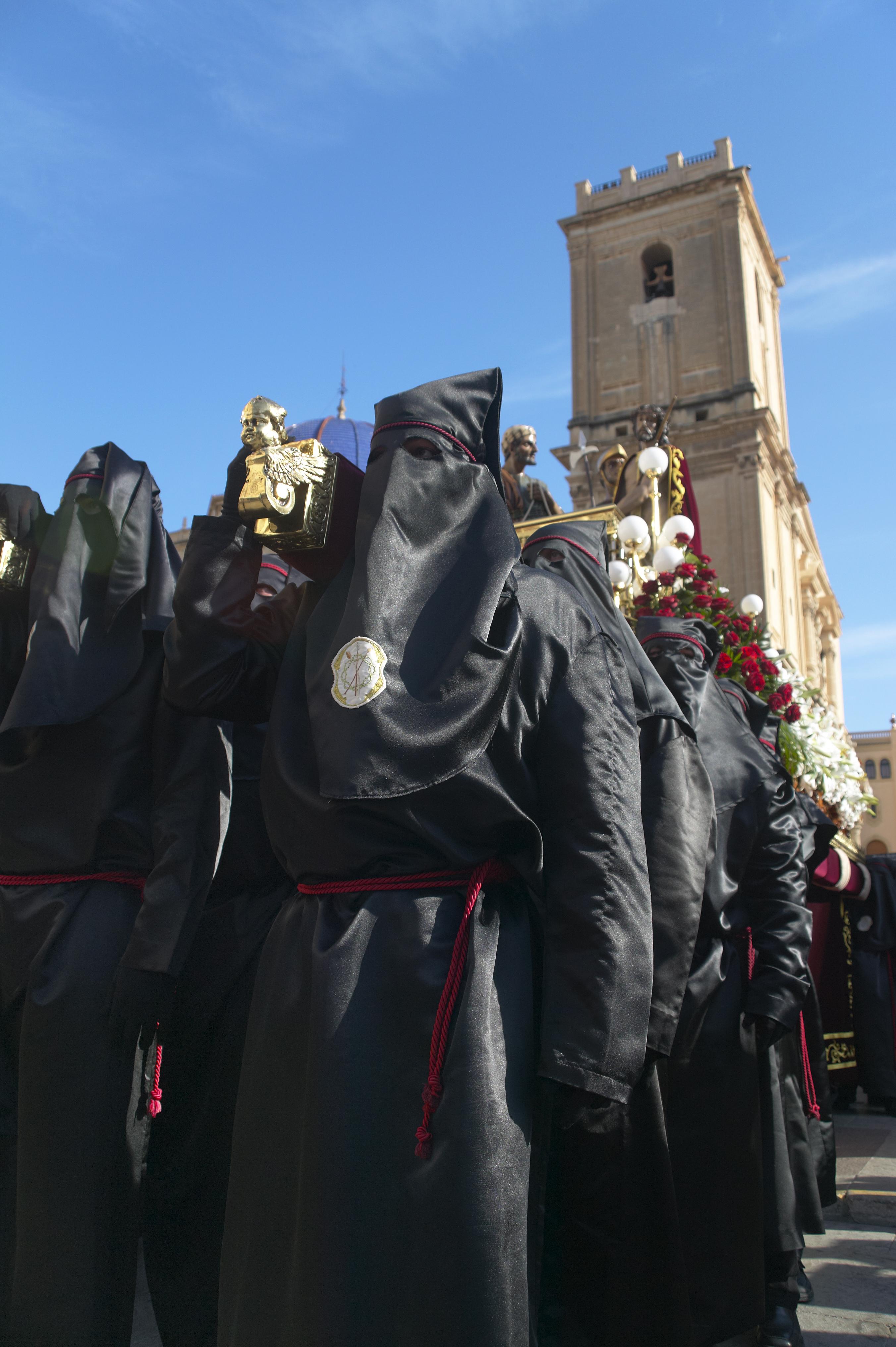 Una procesión en Semana Santa