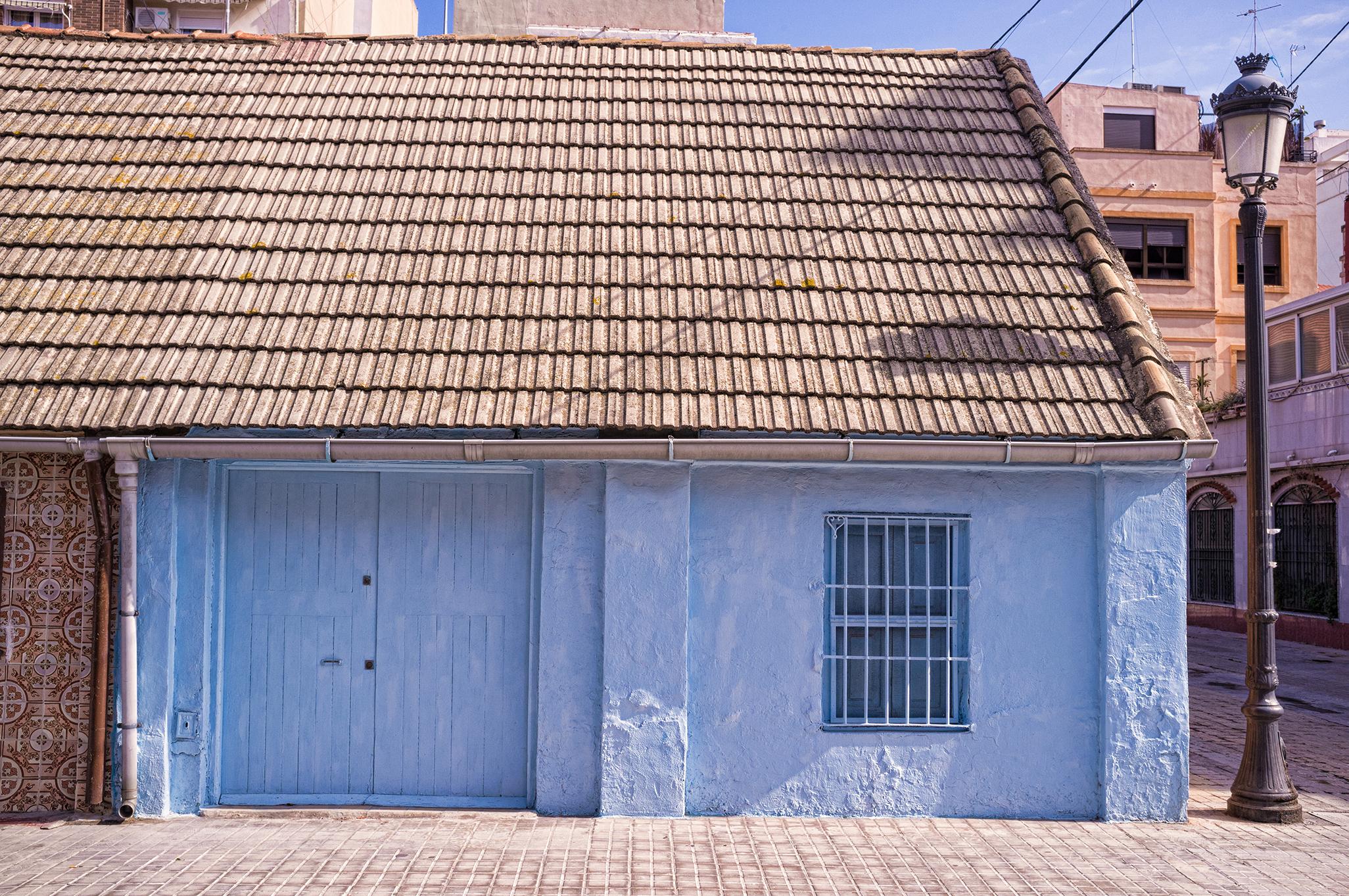 Casa en el barrio del Cabanyal en Valencia Hostal Andrés