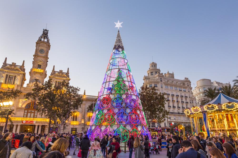 Plz Ayuntamiento Navidad